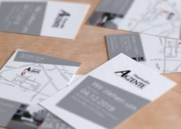 Haarstudio Akzente Terminkarten Agentur Osnabrück