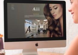 Haarstudio Akzente Responsive Webdesign Osnabrück