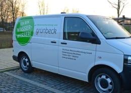 Grünbeck Fahrzeugbeschriftung gestalten Osnabrück