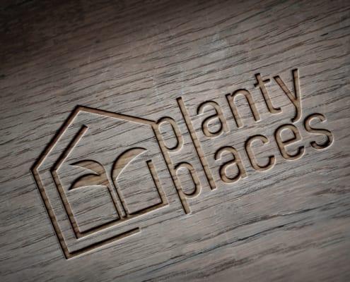 Corporate Design Logogestaltung Planty Places