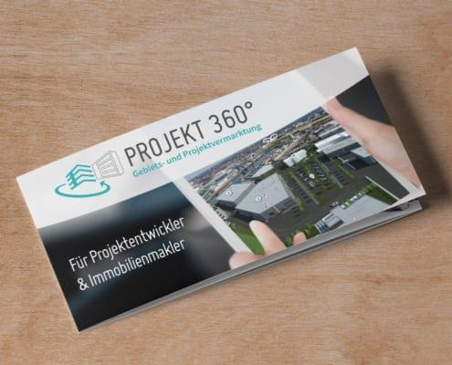 Projekt 360° Folder Flyergestaltung Osnabrück