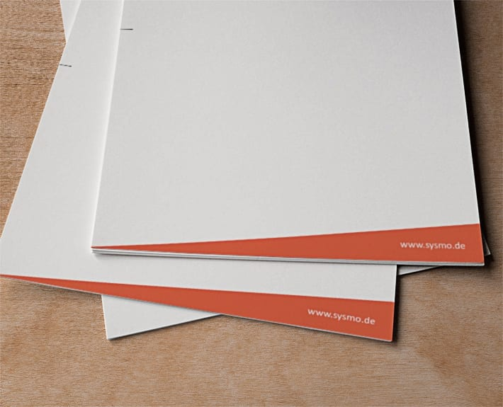 Sysmo Briefpapier Geschäftsausstattung Osnabrück