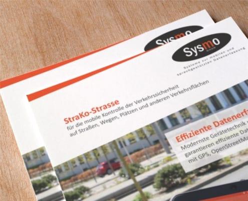 Sysmo Flyergestaltung Werbeagentur Osnabrück