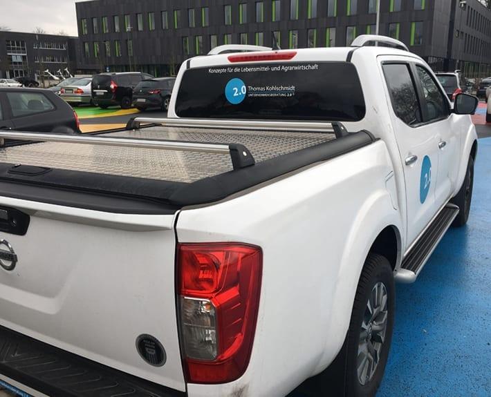 Unternehmensberatung 2.0 Fahrzeugbeschriftung gestalten Osnabrück