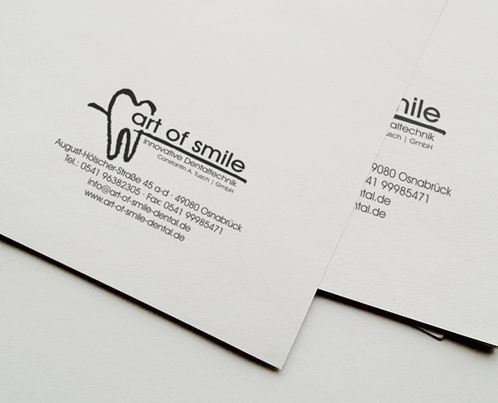 Firmenstempel art of smile