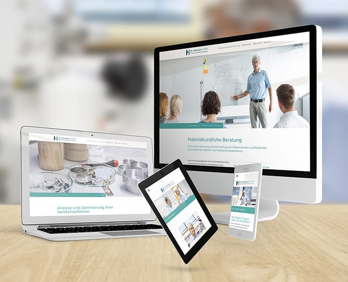 Responsive Webdesign Hehmann NEMP
