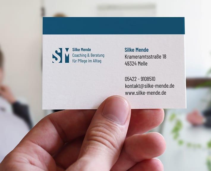 Visitenkarte Silke Mende