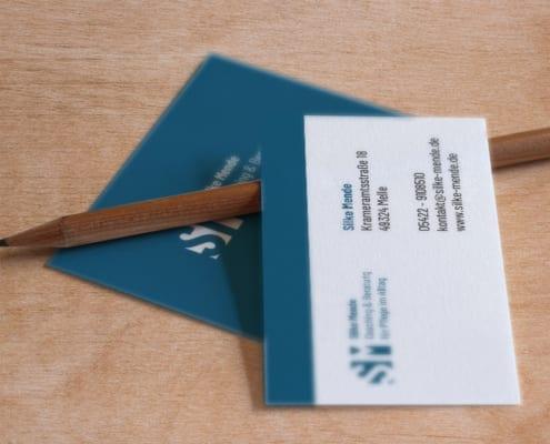 CD Visitenkarten Silke Mende