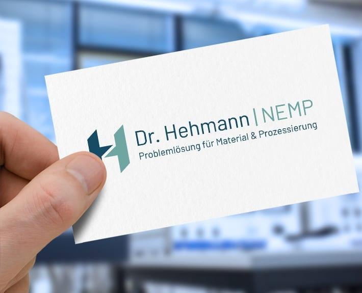 Dr. Hehmann NEMP CD Corporate Design Logogestaltung Osnabrück