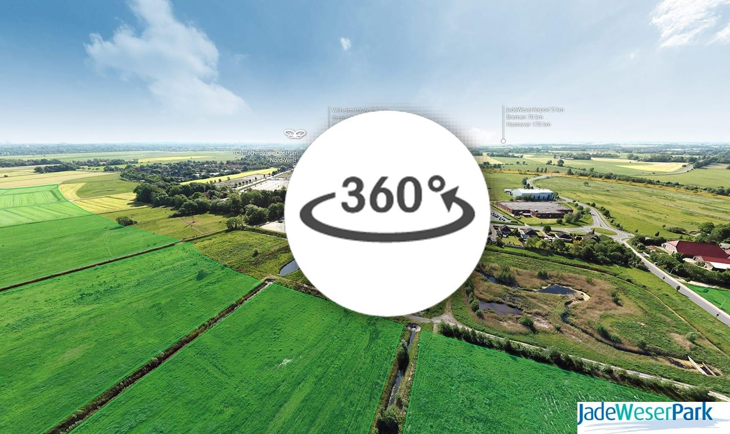 Virtuelle Tour Jade-Weser Park 360 Werbeagentur