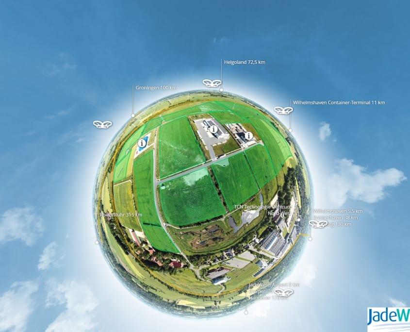 Jade-Weser Park Virtuelle Tour Tiny Planet 360 Werbeagentur