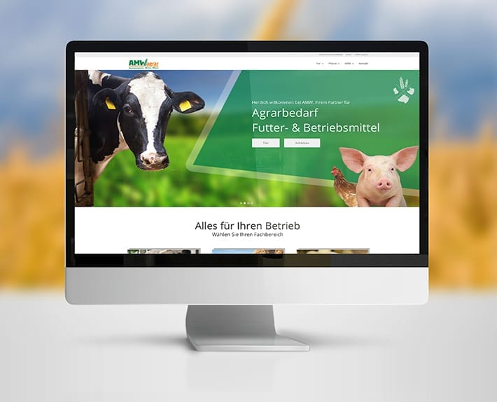 Webdesign AMW Agrar