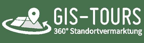 Logo weiß GIS-Tours