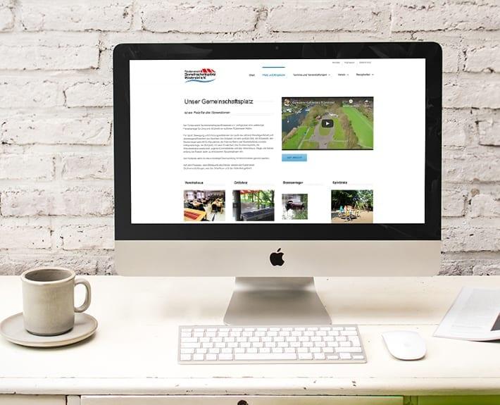 Webseite Gemeinschaftsplatz Ruestersiel e.V.