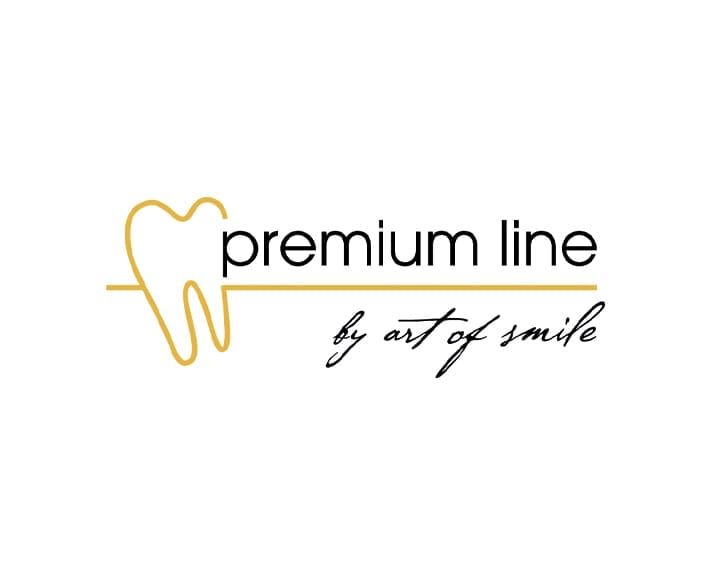 Logo Premium Line art of smile