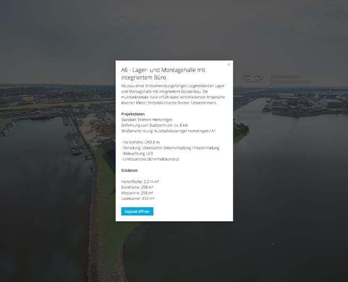 360° Tour Allerkai 4 Bremen Infopoint