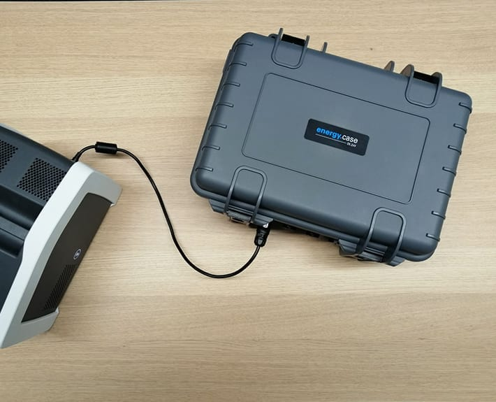Werbetechnik Koffertastatur Beklebung TRONOS