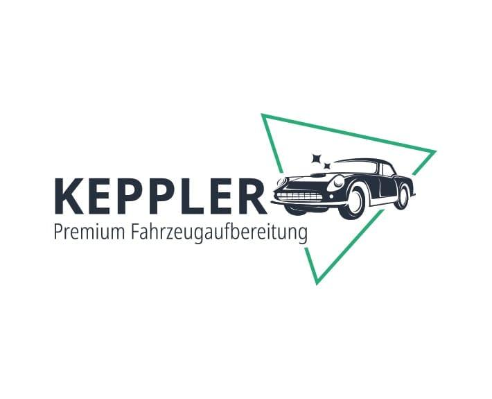 Corporate Design Logo Keppler Premium Fahrzeugaufbereitung
