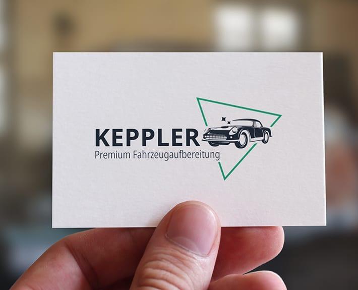 Logo Keppler Premium Fahrzeugaufbereitung