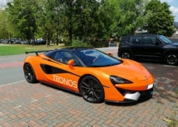 Fahrzeugbeschriftung McLaren TRONOS