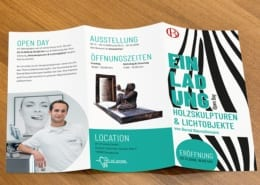 Flyer Innenseiten Art of Smile