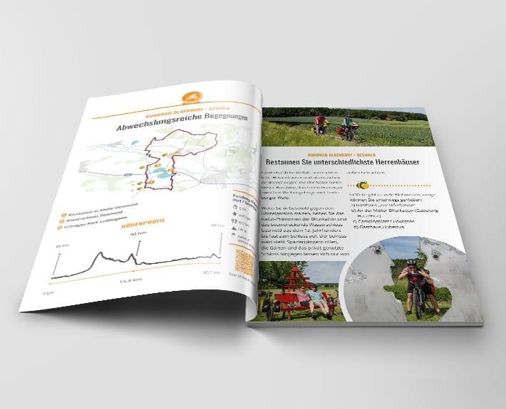 Broschüre Innenseiten Stadt Melle