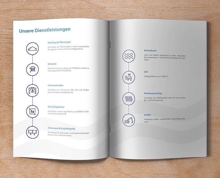 Broschüre Hafenprofil c-Port