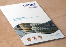 Broschüre Standortprofil Cover c-Port