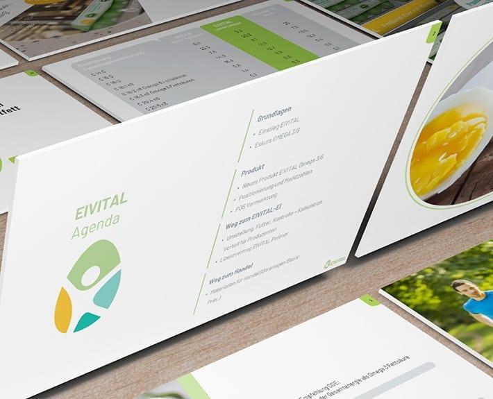 Präsentation Vermarktungsstrategie EiVital