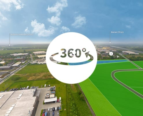 360° Tour Standort Innovationspark Nordheide