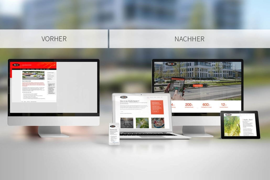 Responsive Webdesign Relaunch Sysmo