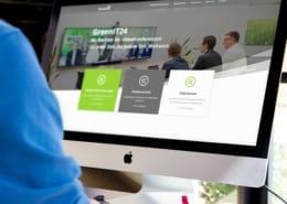 Webseite responsive Design GreenIT
