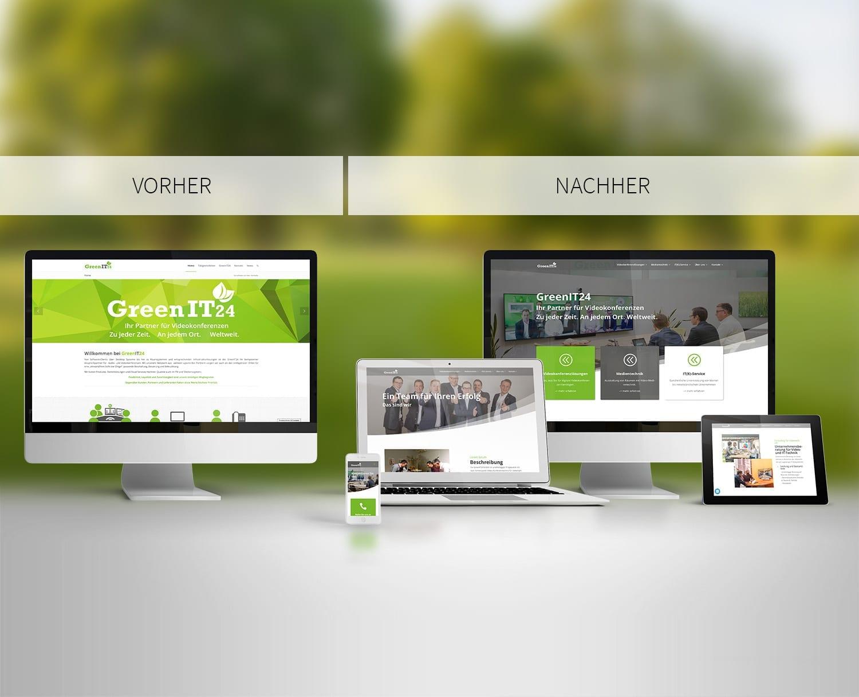 Responsive Webdesign GreenIT24