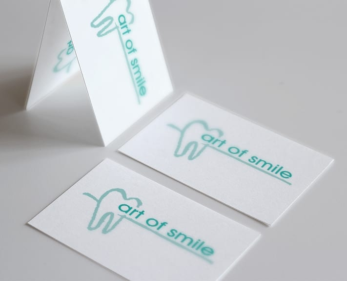 Logo Design art of smile Logo Design