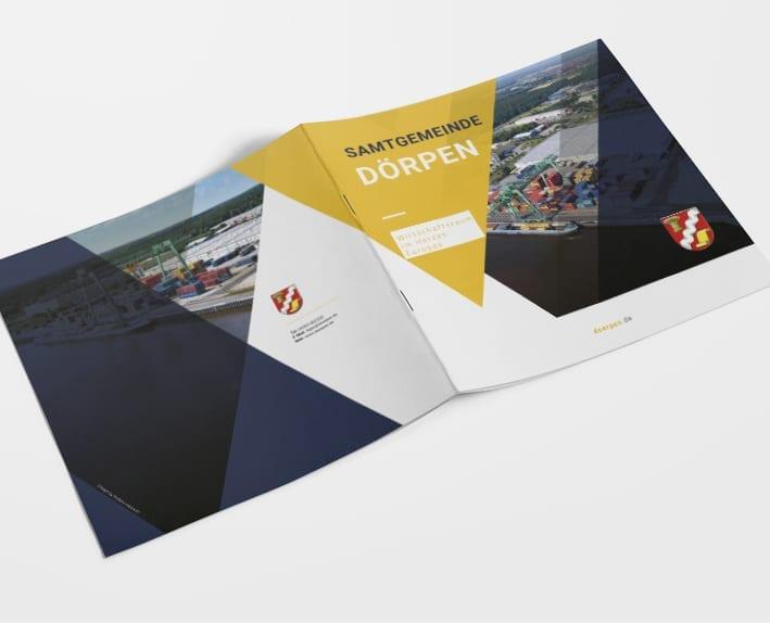 Cover Broschüre Standortprofil Dörpen
