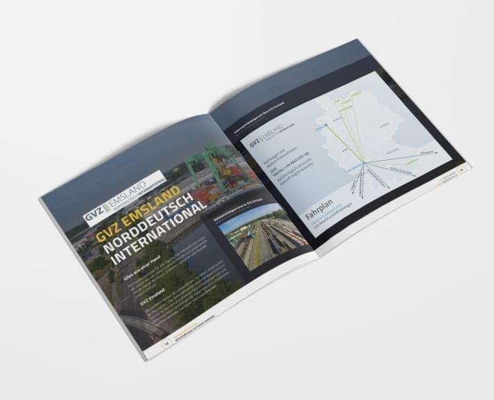 Broschüre Innenseiten Standortprofil Dörpen