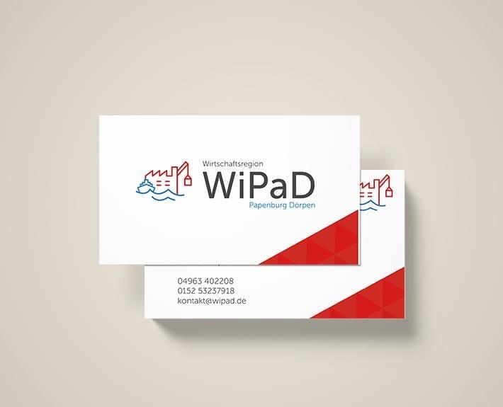 Visitenkarten WiPaD Doerpen Herr Lager