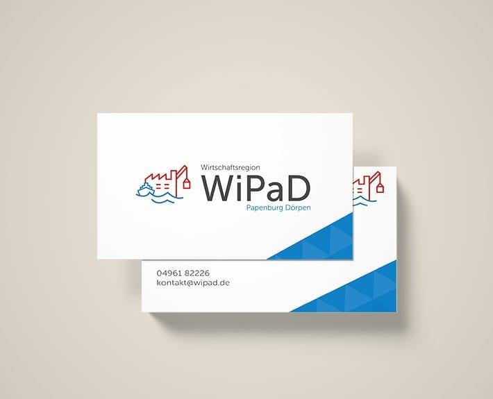 Visitenkarten WiPaD Papenburg Frau Wendt