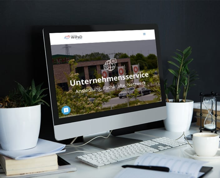 Webseite Mac WIPaD