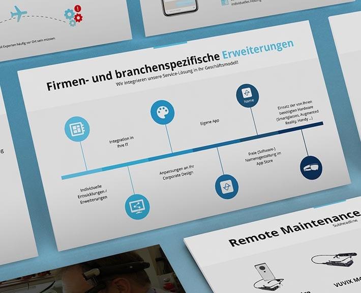 Präsentation Werbeagentur