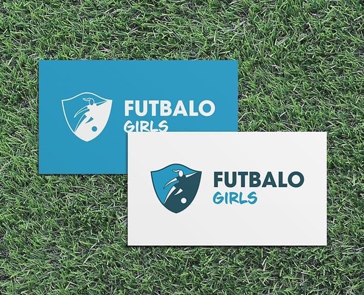 _Futbalo Girls Logo_Visitenkarte