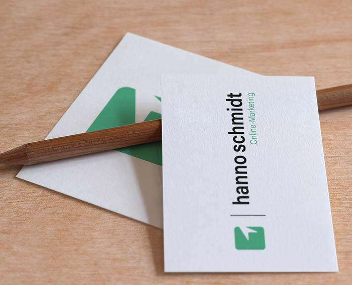Visitenkarte Hanno Schmidt Logo