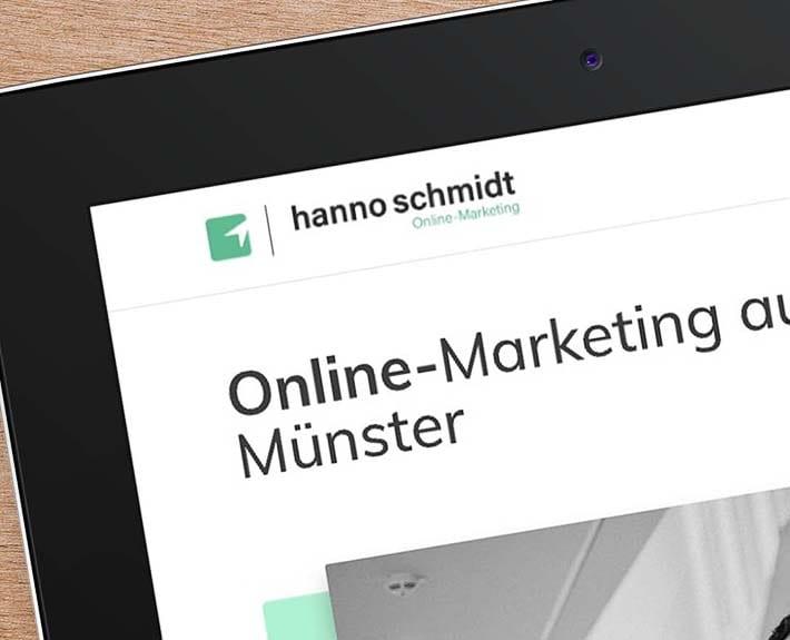 Corporate Design Hanno Schmidt Logo